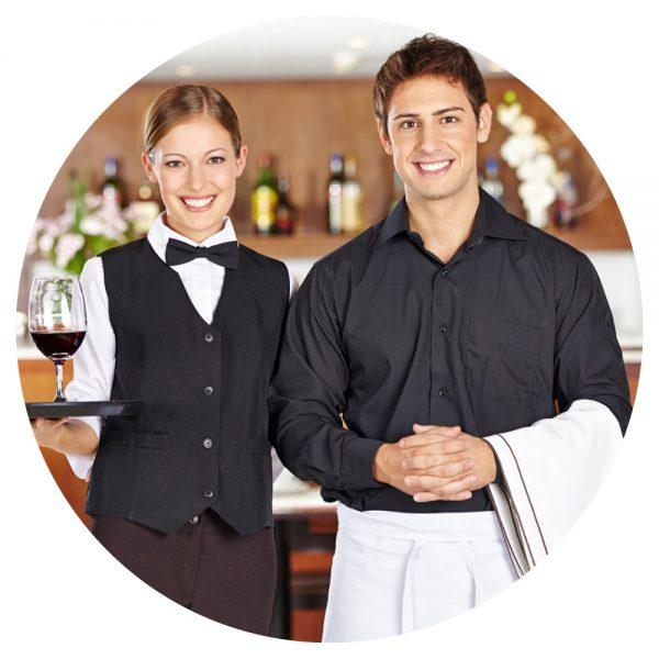 Phục vụ bàn làm việc tại Ontario